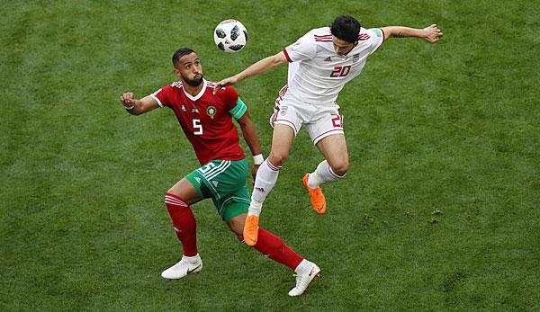 Marokko Iran Fussball