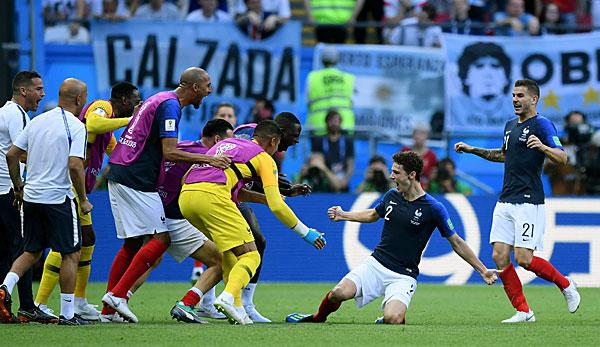 Frankreich Argentinien Live