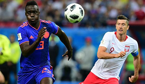 Fußball-WM - Polen scheitert bei WM, Kolumbien jubelt
