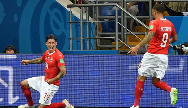 Siegestor in Minute 90: Schweiz dreht Spiel gegen Serbien
