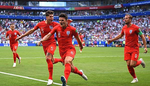 England Gegen Kroatien