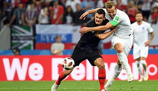 Kroatien England FuГџball