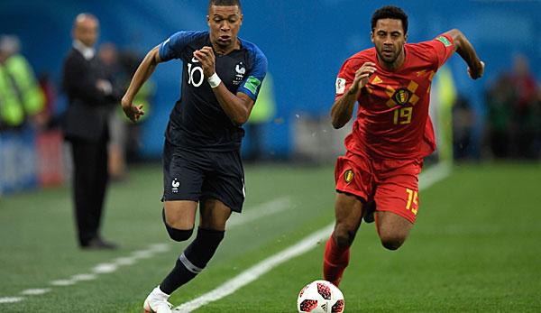 Aufstellung Frankreich Belgien