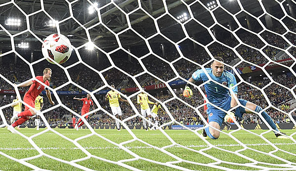 Kolumbien England Fussball