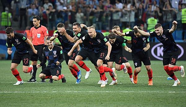 Kroatien Russland Wm