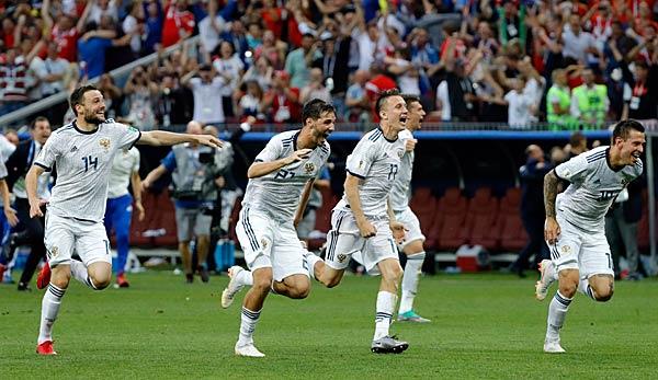 Ergebnis Russland Kroatien