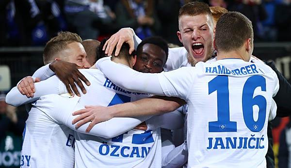 Hsv Gegen Dynamo: Hamburger SV Gegen Dynamo Dresden: 2. Liga Heute Live Im