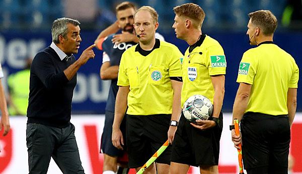 2. Liga - Bochum-Trainer Robin Dutt wütet: Das ist nicht mehr mein Sport