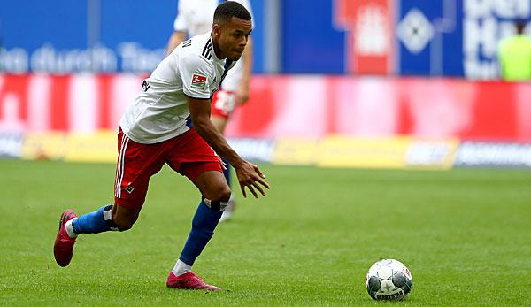 HSV-Training abgebrochen: Jan Gyamerah erleidet Wadenbeinbruch