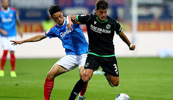 2. Liga: Hannover 96 gewinnt Nordduell gegen Holstein Kiel - Heidenheim schlägt Darmstadt