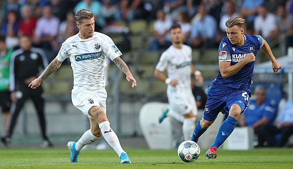 2. Liga: KSC beendet Sandhausener Siegesserie - Fürth springt auf Rang drei