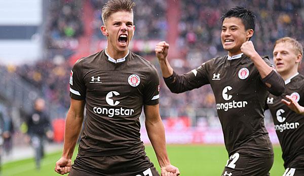 2. Liga: Erzgebirge Aue und St. Pauli auf dem Vormarsch - Befreiungsschlag für Holstein Kiel
