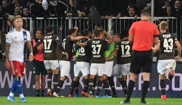 Historische HSV-Niederlage gegen St. Pauli - 0:2 am Millerntor