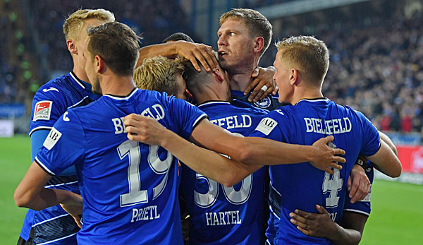 2. Bundesliga: Arminia Bielefeld gegen VfL Bochum heute im Liveticker