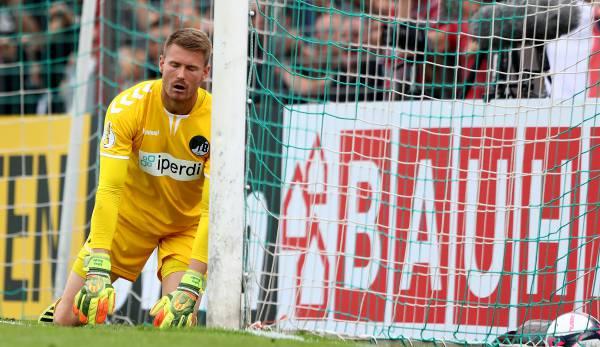 Lukas Raeder spielte früher bei den Amateuren des FC Bayern. Nun ist er für den VfB Lübeck aktiv.