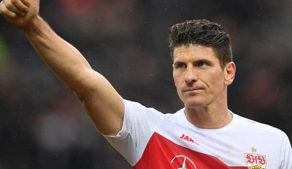 Mario Gomez trifft mit dem VfB Stuttgart auf Bochum.