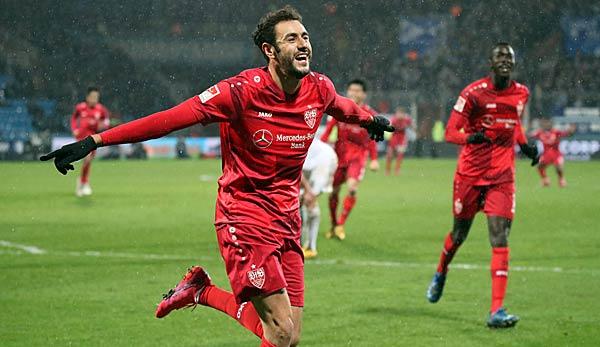 Hamadi Al Ghaddioui brachte den VfB Stuttgart in Führung.