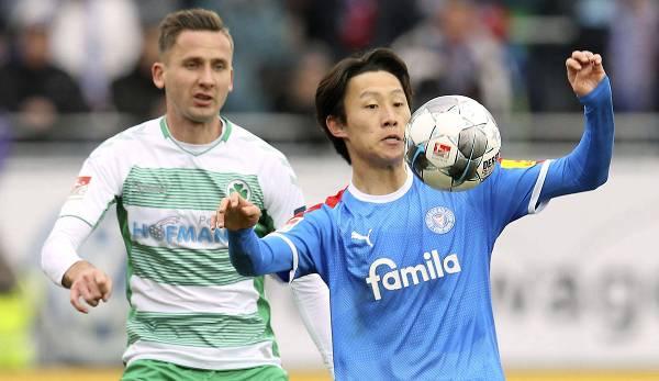 Für Holstein Kiel geht es heute gegen den HSV.
