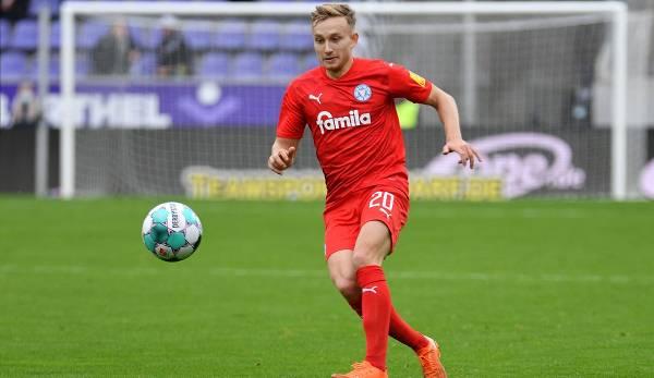 Jannik Dehm veut rester invaincu avec Kiel face au HSV en deuxième division.