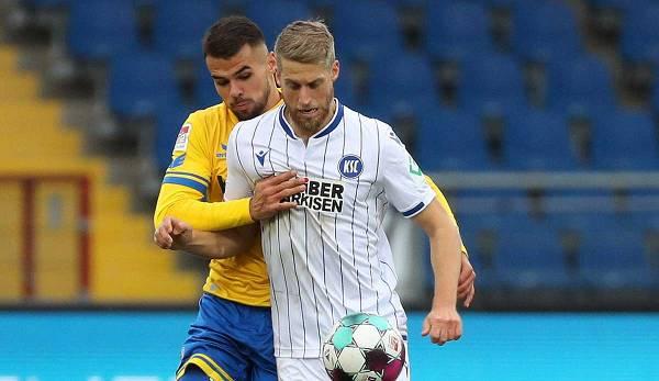 Karlsruher SC s'est imposé 3-1 contre l'Eintracht Braunschweig lors de la 8e journée.