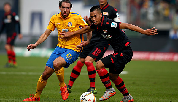 Bobby Wood brachte Union Berlin in der 58. Minute in Front