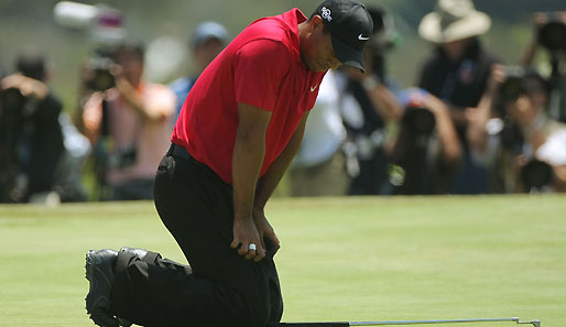 Golf, Tiger Woods, Knie, US Open
