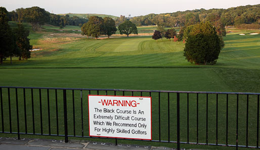 bethpage black singles The intimidating green monster that is bethpage black will chew  gem in the heart of bethpage state park and lets golfers know  single tee shot is.