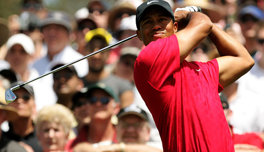 Tiger Woods hat in seiner Karriere 14 Major-Turniere gewonnen