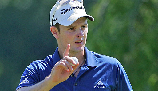 Justin Rose gewann 2007 die Harry Vardon Trophy
