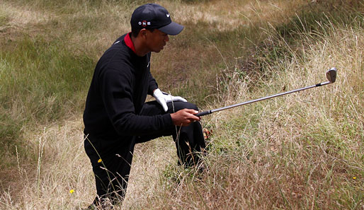 Tiger Woods verpasste bei den US Open in Pebble Beach seinen 15. Major-Sieg
