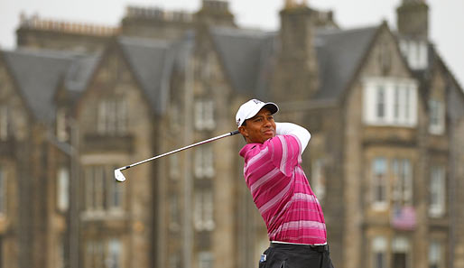 Tiger Woods wurde bei den US Open in Pebble Beach Vierter