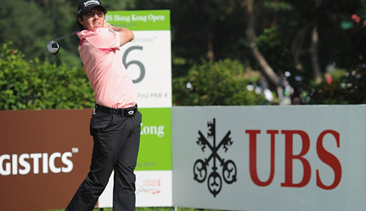 Rory McIlroy liegt in Hongkong vorne