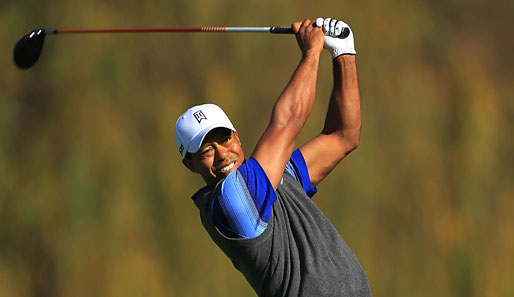 In Top-Form: Der 14-malige Major-Sieger Tiger Woods