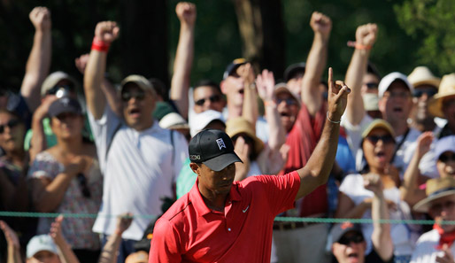 """Ich bin die Nummer eins!"" Zumindest in der Money List hat Tiger Woods Recht"