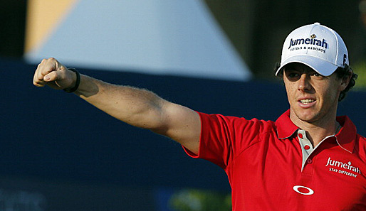 Der Nordire Rory McIlroy im November 2012 bei der DP World Tour Championship in Dubai