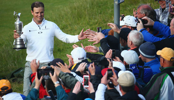 Zach Johnson gewann die 144. Open Championship