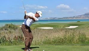 Golf: Siem auf Sizilien Achter - Sieg für Spanier Quiros