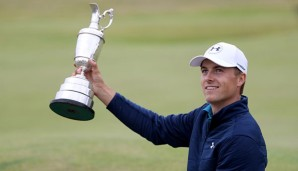 Golf: Spieth klettert nach British-Open-Sieg