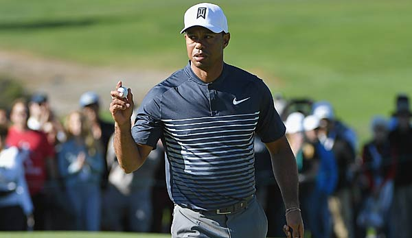 Tiger Woods schaffte in La Jolla den Cut.