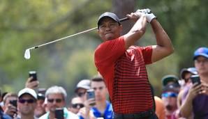 Golf: Tiger Woods verpasst ersten Turniersieg seit 2013 nur knapp