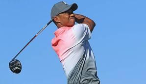 """Golf: Tiger Woods fällt in Orlando zurück: """"Eine Plackerei"""""""