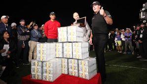 Golf: Golf-Star räumt neun Millionen Dollar ab