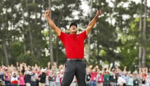 """Golf: Für Tiger Woods """"schließt sich ein Kreis"""""""