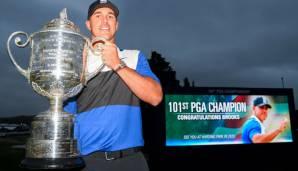 Golf: Trotz Einbruch: Koepka siegt in Bethpage