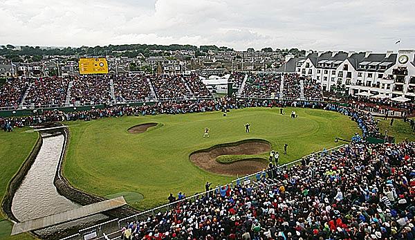 British Open - Golf-Amateur Schmid im Zirkus der Großen: Wirklich grandios