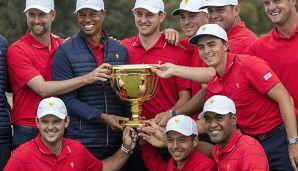Golf: Woods führt USA zum Sieg im Presidents Cup