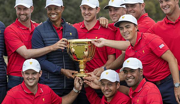 Golf: Tiger Woods führt USA zum Sieg im Presidents Cup
