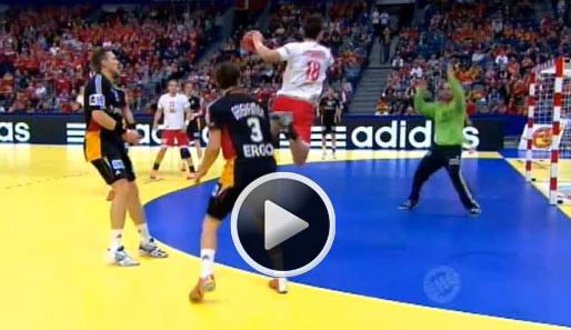 handball deutschland gegen polen