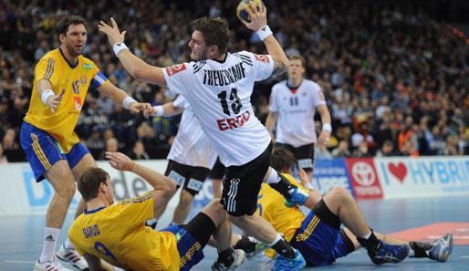 deutschland schweden handball