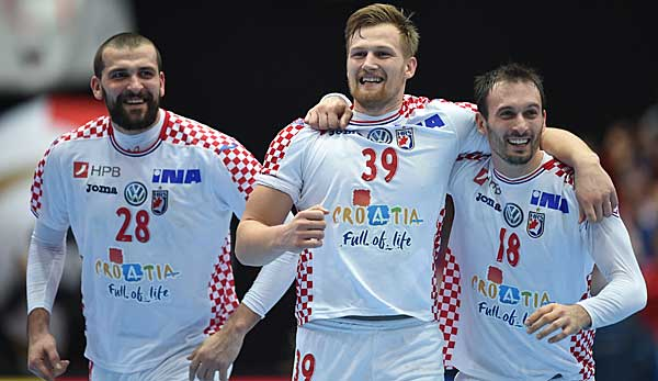 Handball-WM: Optimale Ausgangslage für Kroatien, Dänemark und Schweden